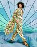 Verandah AM to PM Botanical-Print Sleeveless Jumpsuit