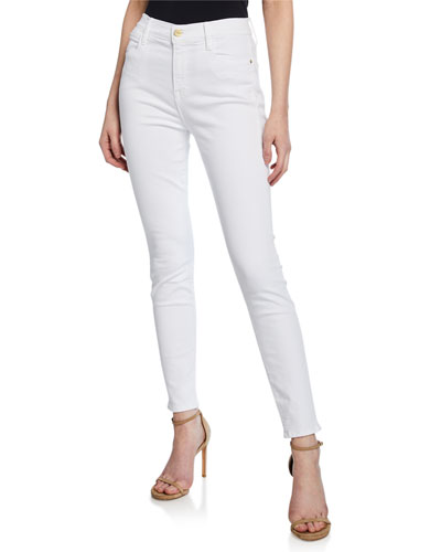 Le High High-Rise Ankle Skinny Jeans