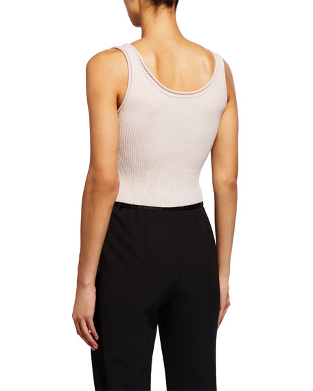 Image 2 of 2: 3.1 Phillip Lim Ribbed Crop Tank