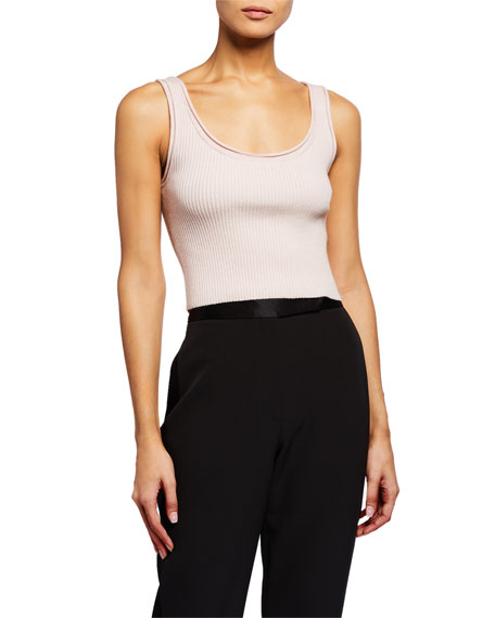 Image 1 of 2: 3.1 Phillip Lim Ribbed Crop Tank