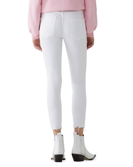 AGOLDE Sophie High-Rise Skinny Cropped Jeans