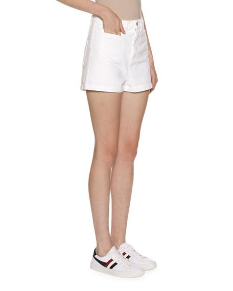 Moncler High-Waisted Shorts