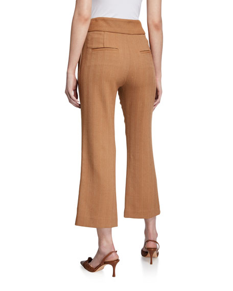 Veronica Beard Cormac Side-Stripe Trousers