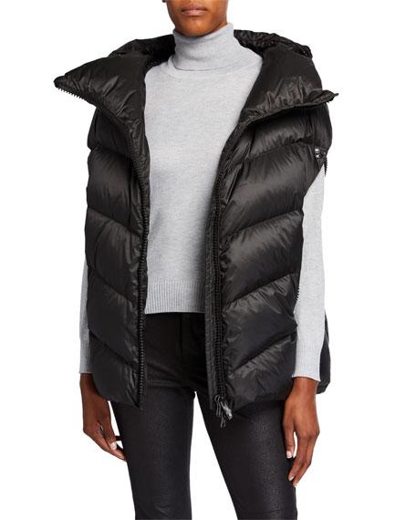 Post Card Dhata Oversized Puffer Vest w/ Hood