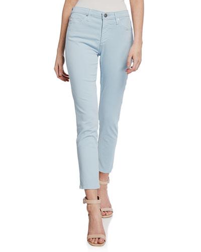 Prima Mid-Rise Cigarette Crop Jeans