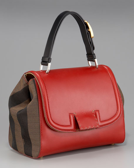 Silvana Front-Flap Handbag