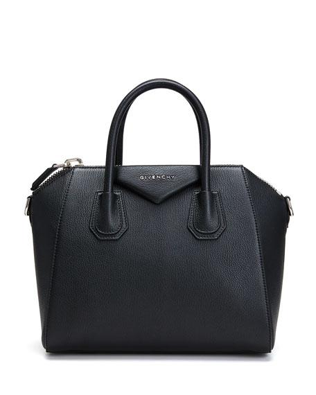 Antigona Small Sugar Goatskin Satchel Bag