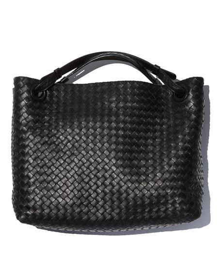 Medium Intrecciato Shoulder Bag