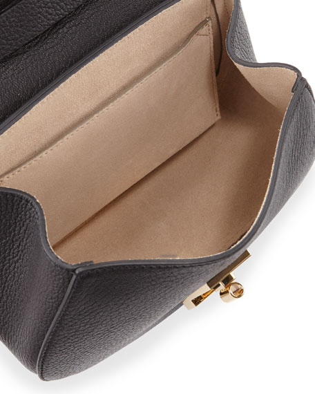 Drew Mini Lambskin Shoulder Bag