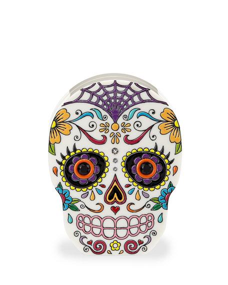 Calavera Skull Clutch Bag