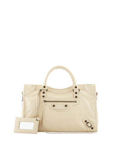 Classic City Bag, Cream