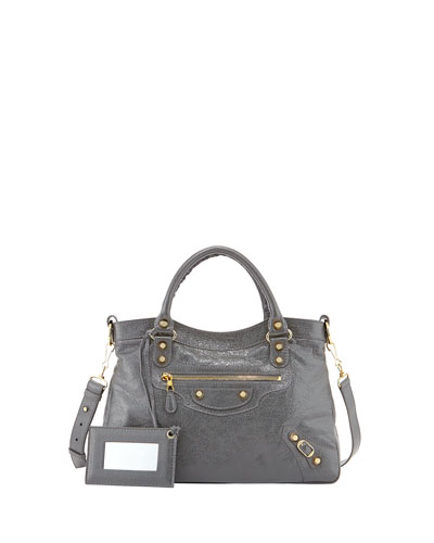 Giant 12 Golden Town Bag, Dark Gray