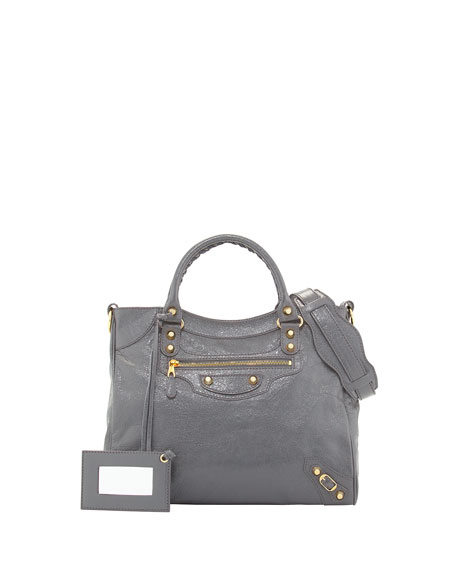 Balenciaga Giant 12 Golden Velo Bag, Dark Gray
