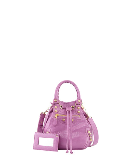 Balenciaga Giant 12 Mini Pompon Bag, Rose