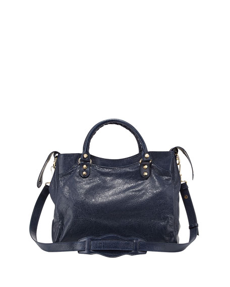 Giant 12 Golden Velo Bag, Dark Blue