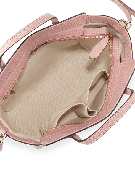 248922002a8e Gucci Swing Mini Crossbody Bag, Light Pink