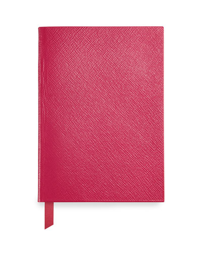 Leather Manuscript Book, Fuchsia