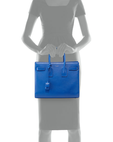 Sac de Jour Small Satchel Bag, Cobalt