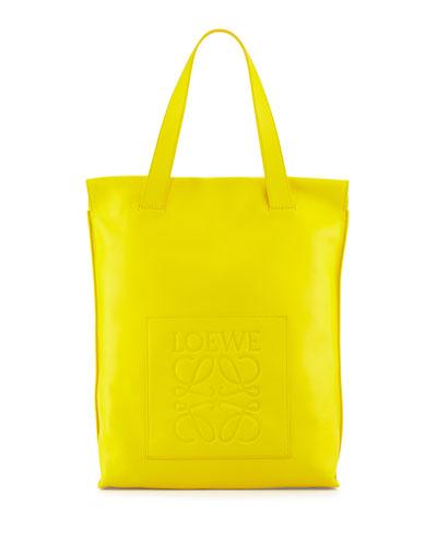 North-South Shopper Bag, Yellow