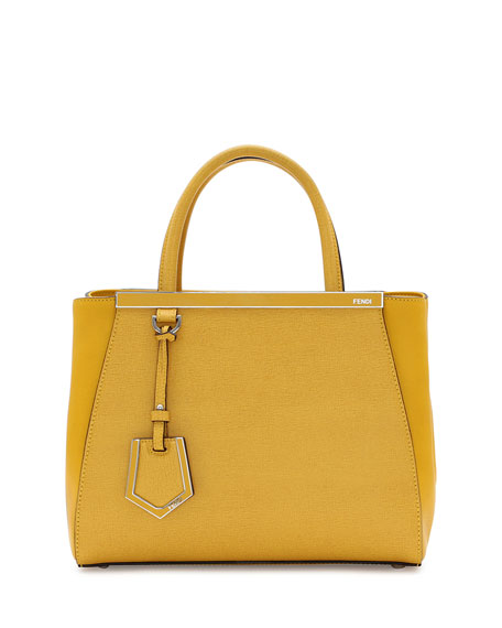 2Jours Mini Shopping Tote, Yellow
