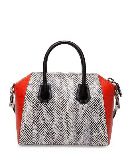 Antigona Medium Elaphe Satchel Bag, Multi