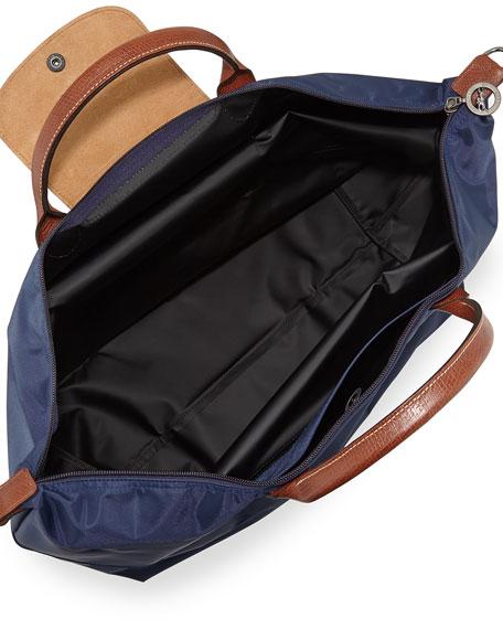 Longchamp Le Pliage Expandable Travel Bag, Navy