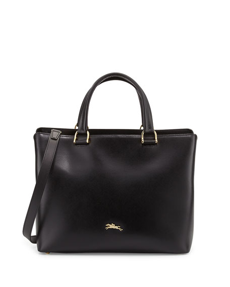 Longchamp Honoré 404 Medium Tote Bag, Black
