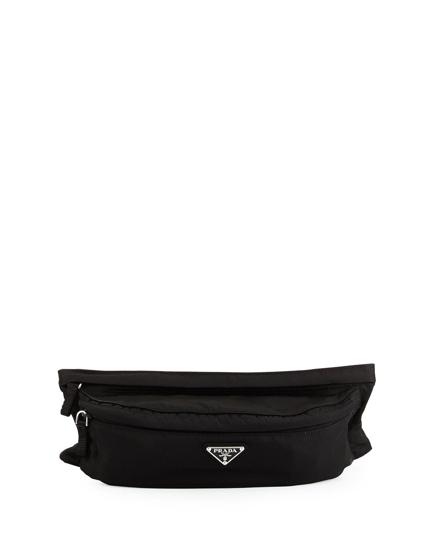 b8973aba3a24 Prada Tessuto Montana Belt Bag, Black (Nero) | Neiman Marcus