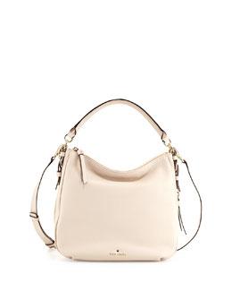 cobble hill ella small shoulder bag, pebble