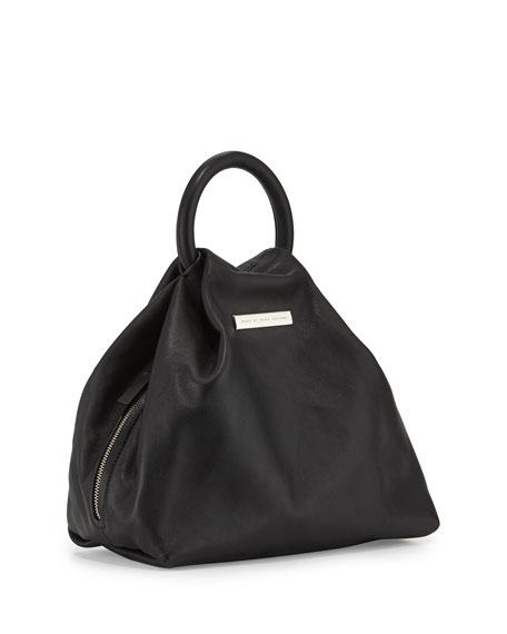 Hangin' Round Medium Ring Tote Bag, Black