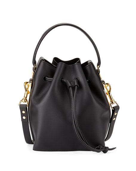 Sophie Hulme Fleetwood Small Bucket Bag, Black