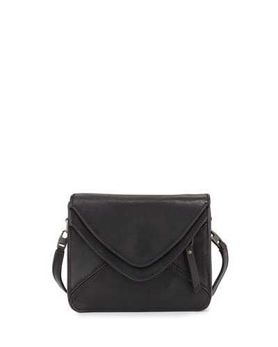 Slash Tiny 2.0 Flap Crossbody Bag, Black