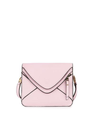 Slash Tiny 2.0 Flap Crossbody Bag, Pink