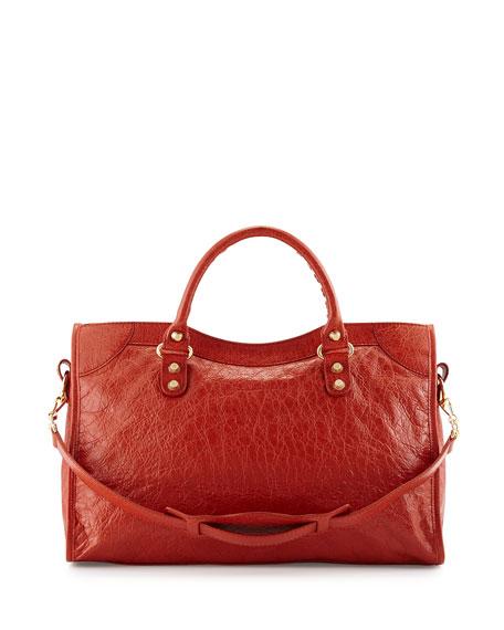 Giant 12 Golden City Bag, Red Orange