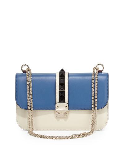 Valentino Colorblock Flap Shoulder Bag 86