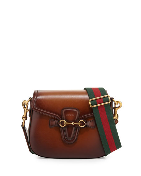 3cd0af7ca20d Gucci Lady Web Medium Crossbody Bag, Brown | Neiman Marcus