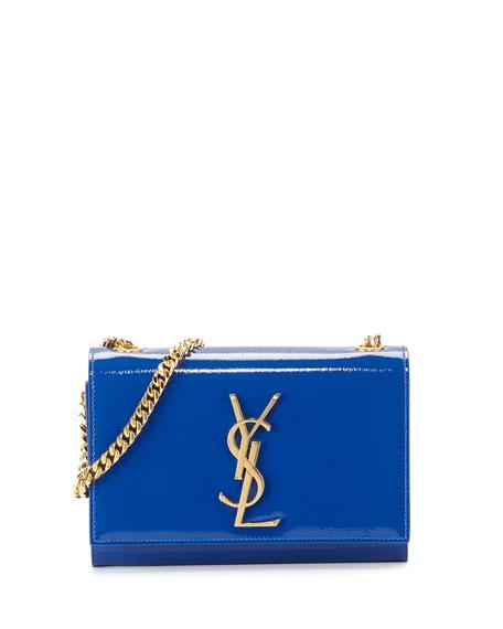 Monogram Small Crossbody Bag, Blue