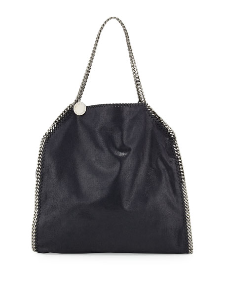 Stella McCartney Falabella Large Tote Bag, Navy