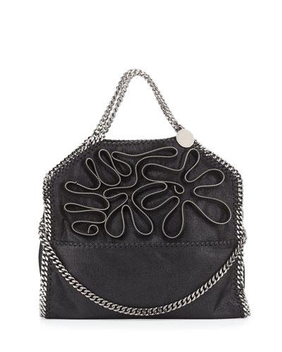 99ed3670c4 Stella McCartney Falabella Fold-Over Zipper Small Tote Bag