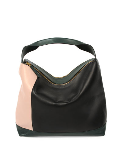 Colorblock Shoulder Bag, Multi