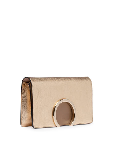 chloe elsie mini shoulder bag - chloe metallic leather clutch, chloe imitation handbags