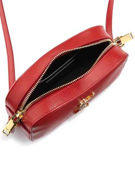 Monogramme Camera Crossbody Bag, Lipstick Red