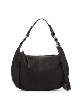 Pamela Hobo Bag, Black