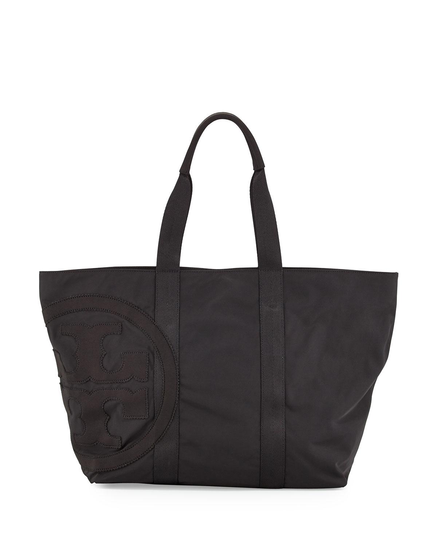 0147d84bc8f9 Tory Burch Penn Nylon Mid-Zip Tote Bag