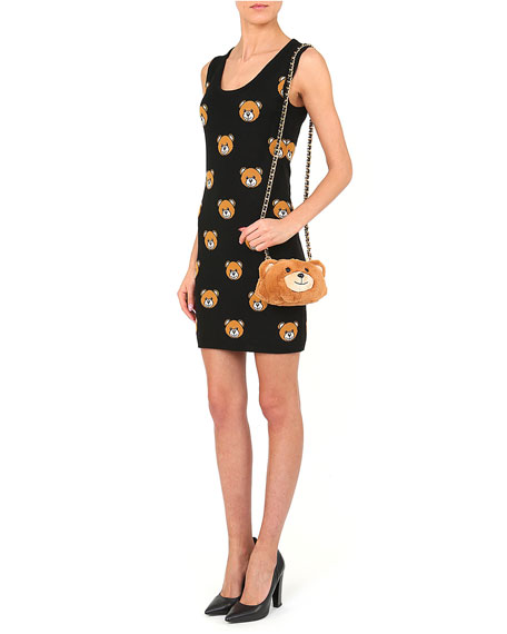 Moschino Teddy Bear Plush Mini Shoulder Bag