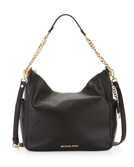Michael Kors Chandler Large Convertible Shoulder Bag Black Neiman Marcus