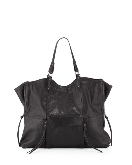 Kooba Everette Leather Tote Bag, Black