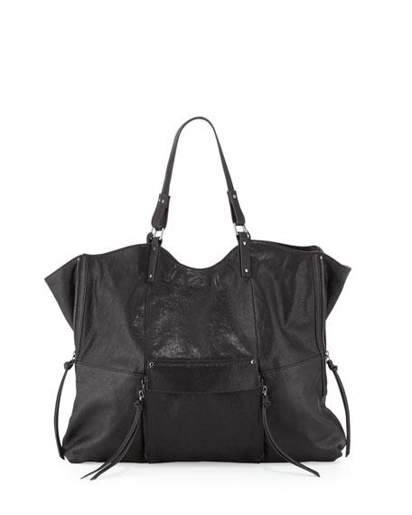 f44fe2a92713 Everette Leather Tote Bag, Black