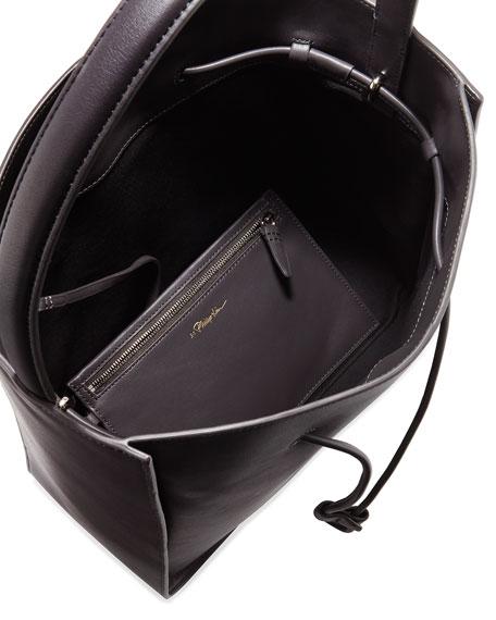 Soleil Large Drawstring Bucket Bag