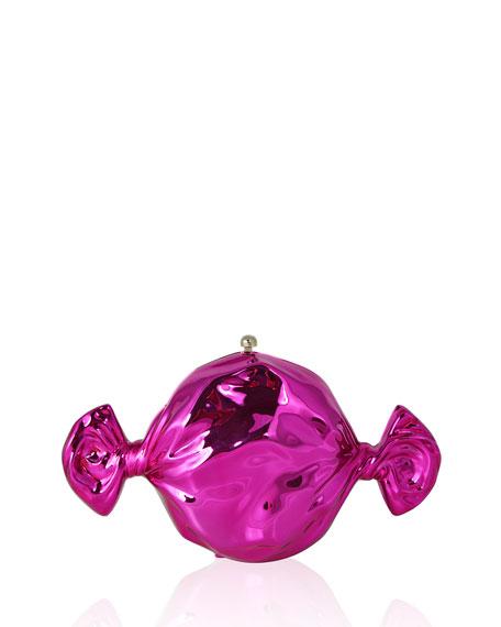 Raspberry Candy Clutch Bag
